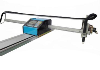 పోర్టబుల్ CNC జ్వాల / ప్లాస్మా కట్టింగ్ యంత్రం ఉక్కు 8mm CNC మెటల్ ఇత్తడి రాగి కోసం కటింగ్ యంత్రం