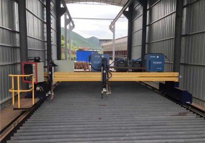 ఫ్యాక్టరీ సరఫరా 1200 * 1200mm వాణిజ్య హామీని CNN ప్లాస్మా కటింగ్ యంత్రం